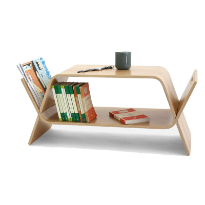 Embrace Magazine Rack Oak