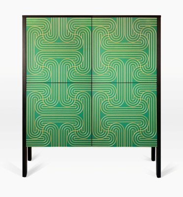 Emerald Loop Cabinet 4 Door