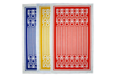 English Breakfast Tea Towels Set of 3
