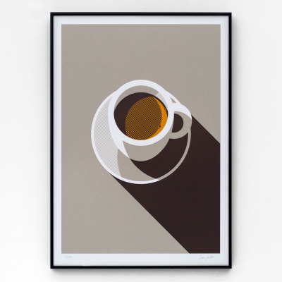 Espresso A2 Screen Print