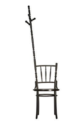 Extension Dining Chair Coat-stand