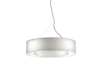 Fabric Hanging Lamp Lighting device with diffused light
