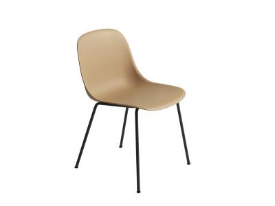 Fiber Side Chair Tube Base Ochre/Black