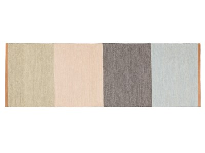 Fields Long Rug Beige/pink/brown/blue, 80×250 cm