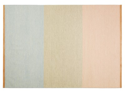 Fields Rectangular Rug Pink/beige/blue, 170x240 cm