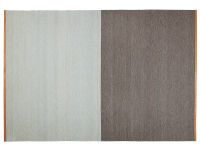 Fields Rectangular Rug Brown/blue, 200x300 cm