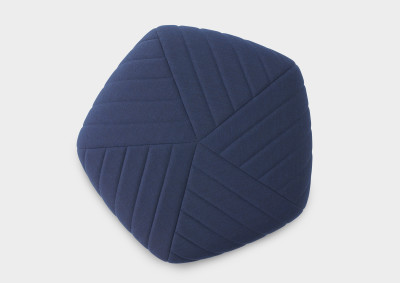 Five Pouf Dark Blue - Remix 773