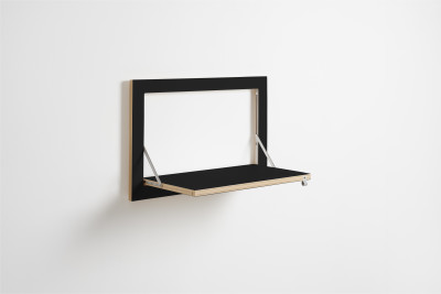 Fläpps Shelf 60x40-1 Black