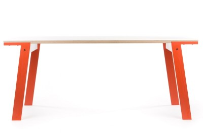 rform Flat Table - Foxy Orange
