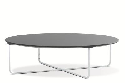 Flint Oval Coffee Table Black