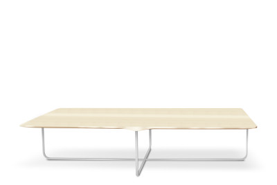 Flint Rectangular Coffee Table Matt Lacquered Walnut