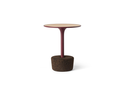 Flora Small Coffee Table Luxury Red, tall