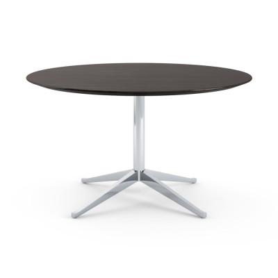 Florence Knoll Table Desk Ebonized Oak Top