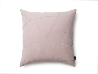 Flow Cushion, Square - Set of 2 Rose