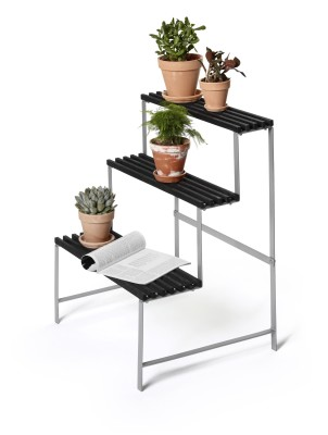 Flower Pot Stand Dark grey