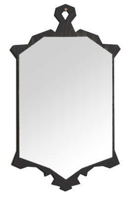 Ford Wall Mirror Black