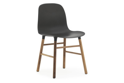 Form Chair Walnut, Black