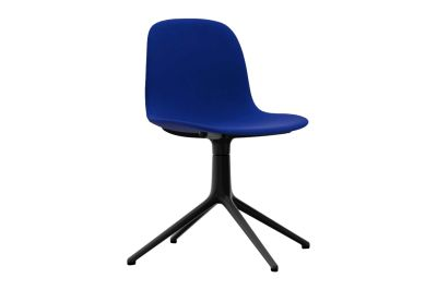 Form Swivel Chair 4L - Fully Upholstered Fame 60078, NC Aluminium