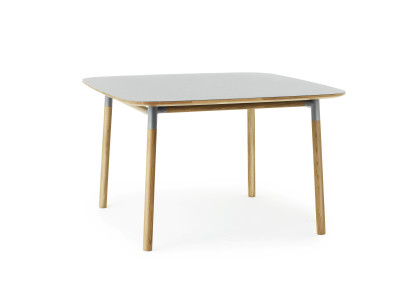Form Table 120 x 120 cm grey