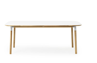 Form Table - Rectangle White