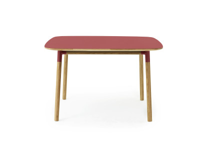 Form Dining Table - Square Red