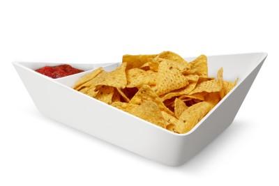 Forminimal Chip + Dip Bowl