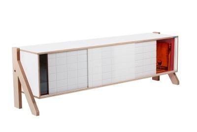 Frame Sideboard 01 Mid - Snow White