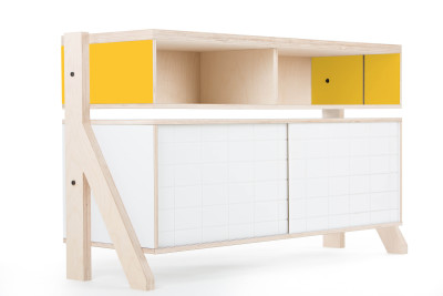 Frame Sideboard 02 Small - Canary Yellow