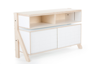 Frame Sideboard 02 Small - Snow White