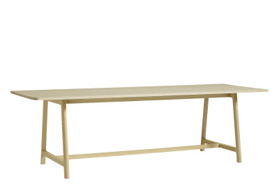 Frame Dining Table Matt Lacquered Ash, Large