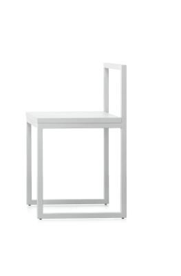 Fronzoni '64 Chair Matt Lacquer,  anthracite