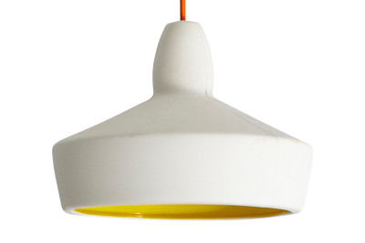 Full Spun Pendant Light Yellow