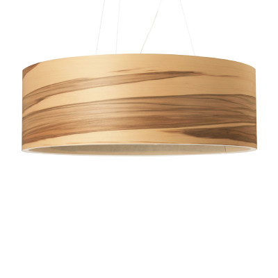 Funk 60/20P Pendant Light Satin Walnut