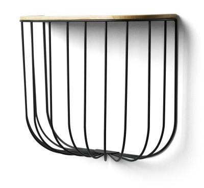 Fuwl Cage Shelf Black