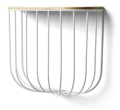 Fuwl Cage Shelf White