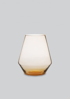 Fyr Candle Lantern Burnt Orange