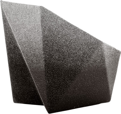 Gemma Armchair by Daniel Libeskind for Moroso, upholstered in Blur - grey