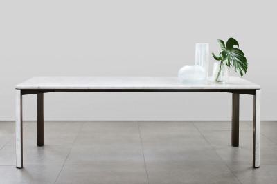 "Gregorio Rectangular Dining Table Carrara ""C"""