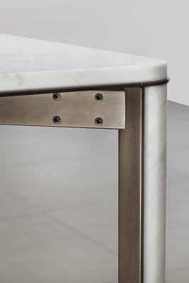 "Gregorio Square Dining Table Carrara ""C"""