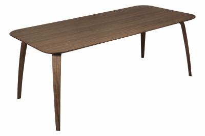 Gubi Rectangular Dining Table Walnut