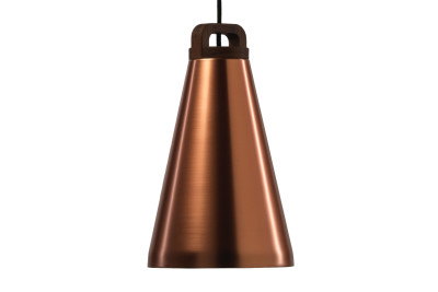Handle Narrow Pendant Light Copper