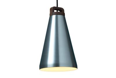 Handle Narrow Pendant Light Silver