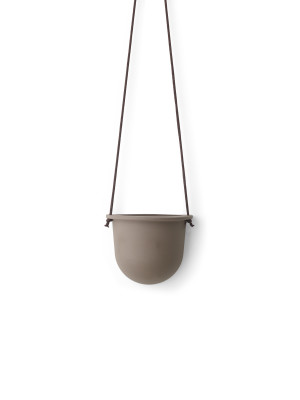 Hanging Vessel Taupe