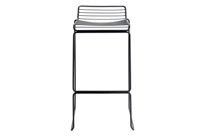 Hee Bar Stool Black, High