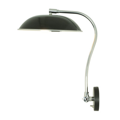 Hugo Wall Light Black