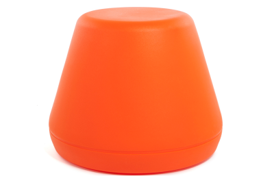 Hyde Outside Stool Orange