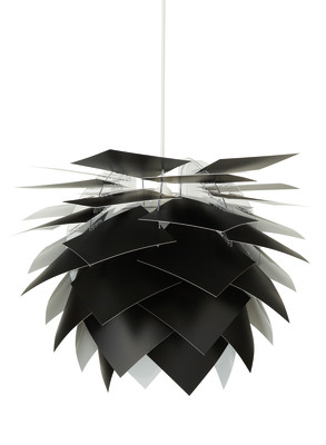 Illumin Black Pendant Light H35 Ø35