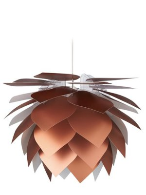 Illumin Drip/Drop Pendant Light Copper Look