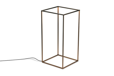 Ipnos Outdoor Floor Lamp Burnished Brass