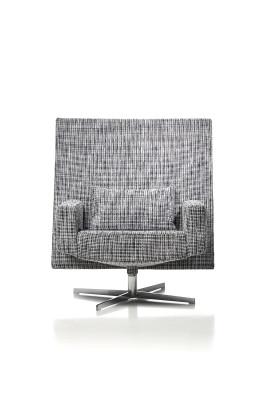Jackson Lounge Chair Macchedil Grezzo Black indigo